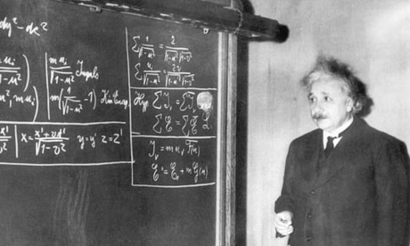 Albert Einstein's equation of general relativity is a thing of dazzling beauty. Photograph: Bettmann/CORBIS