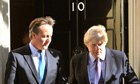 David Cameron and Boris
