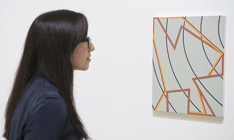Pintura Now: Cinco Artistas Exposição Contemporânea na Tate Britain, em Londres, Grã-Bretanha - 11 de novembro de 2013