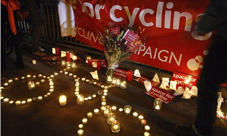 Tributes to cyclist killed at Bow roundabout, London