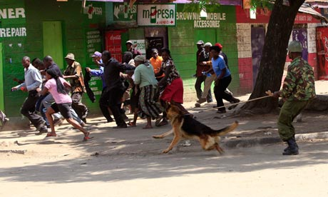 Eastleigh rioters Nairobi