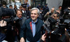 ***BESTPIX***Chris Huhne Released From Prison