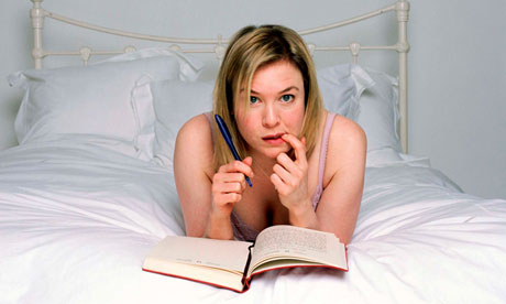 Bridget Jones: older, yes, but still mad about the boys