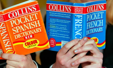 French and Spanish dictionary