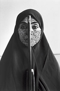 ShirinNeshat, Rebellious Silence, fromWomen of Allah Series, 1994