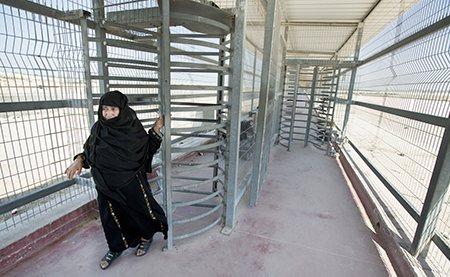 gaza; erez walkway
