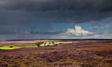 Danby Beacon, North York Moors, storm approaching