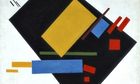 malevich Suprematist Painting (with Black Trapezium and Red Square) 1915