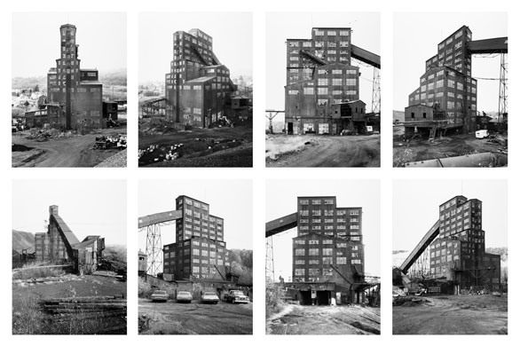 New Topographics: Preparation Plant, Harry E. Colliery Coal Breaker, 1974 by Hilla Becher