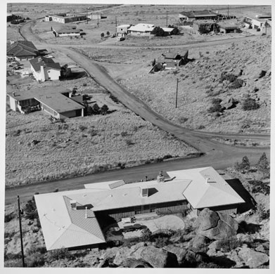 New Topographics: Untitled View (Albuquerque), 1974 by Joe Deal
