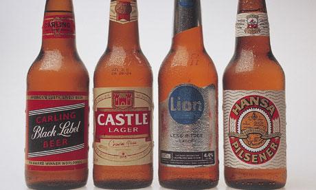 SABmiller-beer-bottles