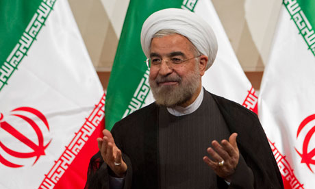 Hassan Rouhani, leader