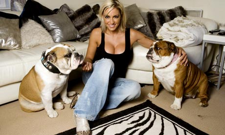Jodie Marsh at Home
