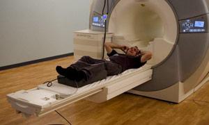 Phil Hogan goes into the MRI machine