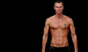 38-year-old Olympic Swimmer Mark Foster