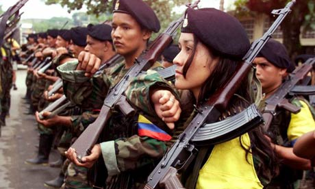 Colombia's female revolutionaries