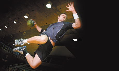 Handball player Daniel McMillen
