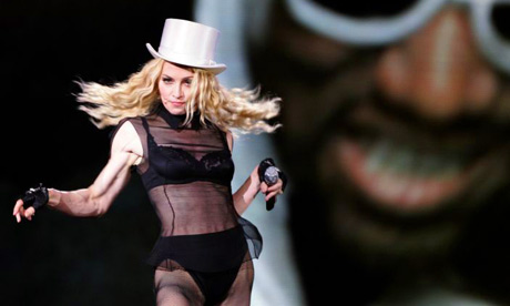 August 26, 2008, Nice, France: U.S. singer Madonna performs on the opening ...