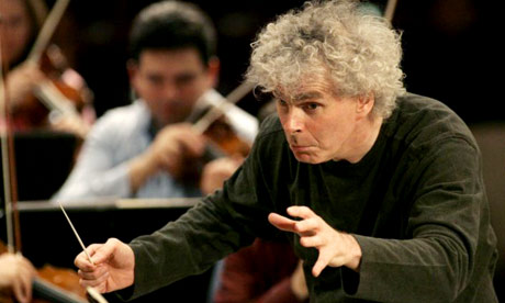 Composer Simon Rattle