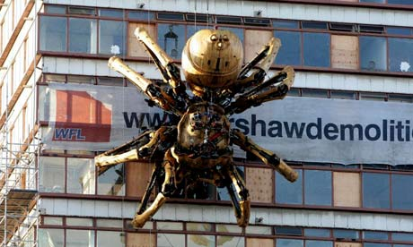 Liverpool's Giant Spider