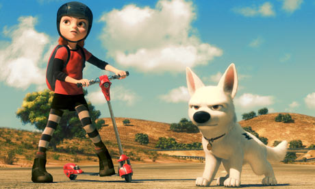 bolt pixar animated film