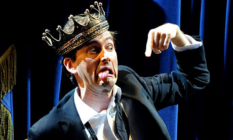 David Tennant as Hamlet. Photograph: Tristram Kenton
