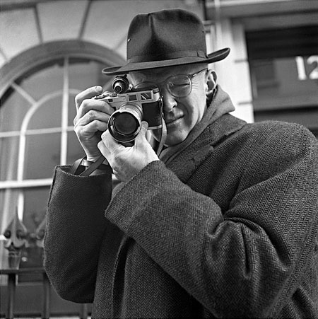 Henri Cartier Bresson- portrait by Jane Bown