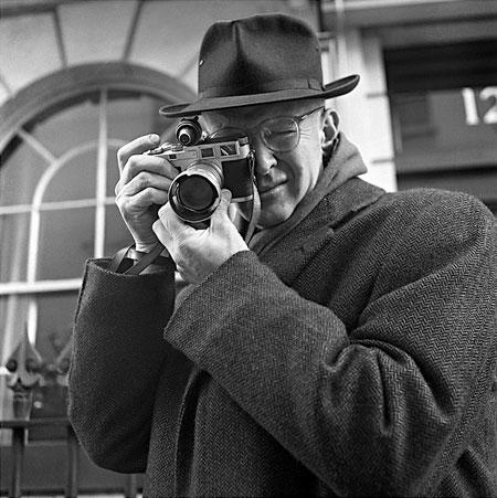 Henri Cartier Bresson- portrait by Jane Bown