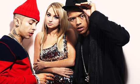 Dappy, Tulisa and Fazer of N-Dubz