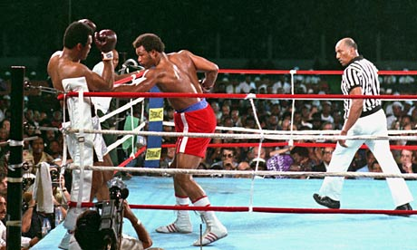 Muhammad Ali won the Rumble in the Jungle by using his opponent George Foreman's weaknesses against him.