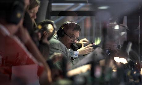 Alan Green at Wembley