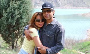 Neda Soltan and Caspian Manak.