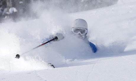 deep powder at whistler