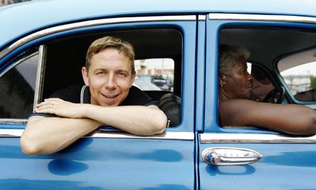 Radio 1 DJ Gilles Peterson in Havana.