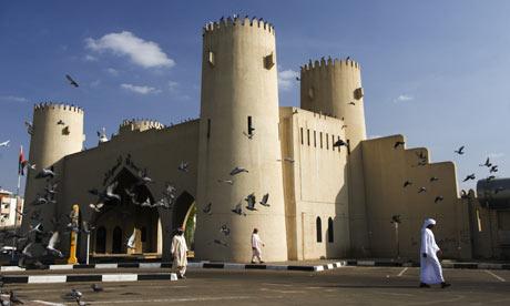 Gateway in Al Ain, Abu Dhabi.