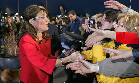 Sarah Palin meets public in Grand Rapids