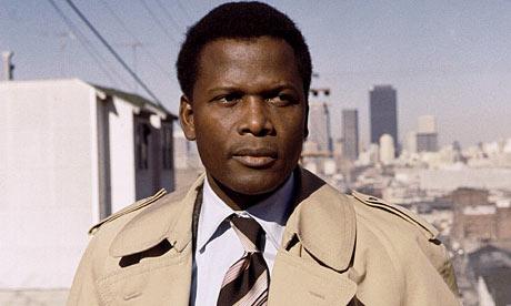 Sidney Poitier as detective Virgil Tibbs