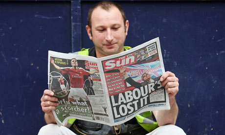 The Sun Newspaper. The Sun Newspaper Switches Its