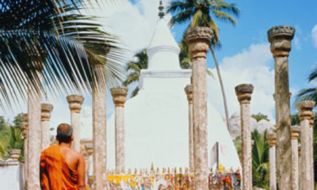 The ancient city of Anuradhapura, Sri Lanka.