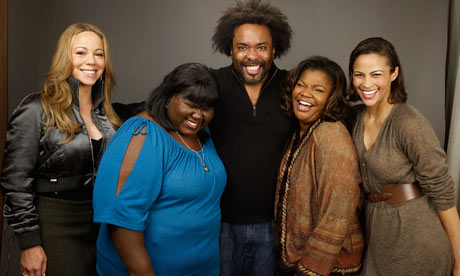 Lee Daniuels and Precious cast