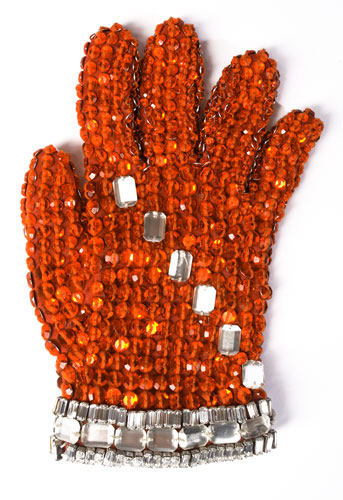 Michael Jackson's auction: Michael Jackson's spandex glove