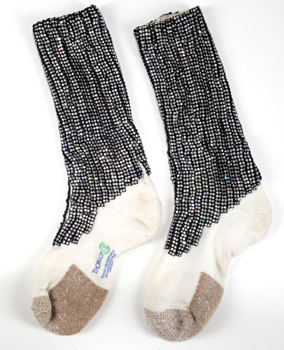 Michael Jackson's auction: Michael Jackson's triumph era socks
