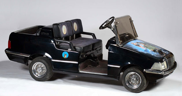 Michael Jackson's auction: Michael Jackson's golf cart