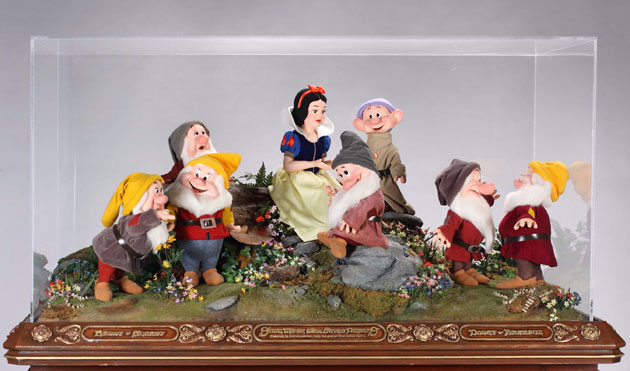 Michael Jackson's auction: Michael Jackson's figures of Snow White and the seven dwarfs
