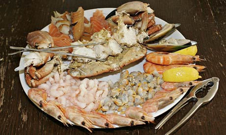 The Company Shed's seafood platter
