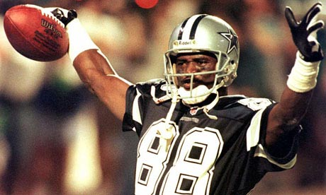 Dallas Cowboys wide receiver Michael Irvin