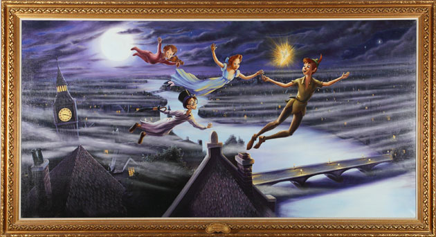 Michael Jackson auction 2: peter pan painting