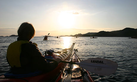 Sea Kayaking, Summer Isles, Scotland