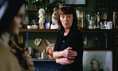Writer Beryl Bainbridge at home