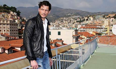up hugely successful male model David Gandy | Fashion | The Observer